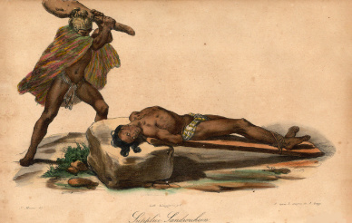 "Jacques Arago ""Supplice Sandwich"""